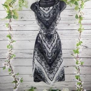 Loft Sleeveless Fit and Flare Dress
